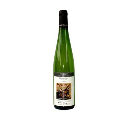 Pinot gris d'une séduisante minéralité ! Belles notes florales et de fruits mûrs, bouche puissante et chaleureuse. Parfait sur une salade vigneronne !